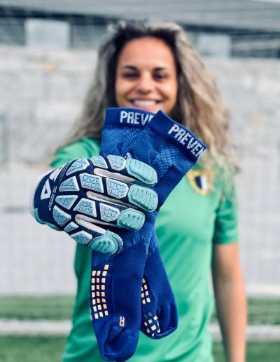 Rute Costa, Goal Keeper Women's Team of FAMALICÃO SOCCER CLUB AND Past Goal Keeper on Portuguese National Team with PST Socks