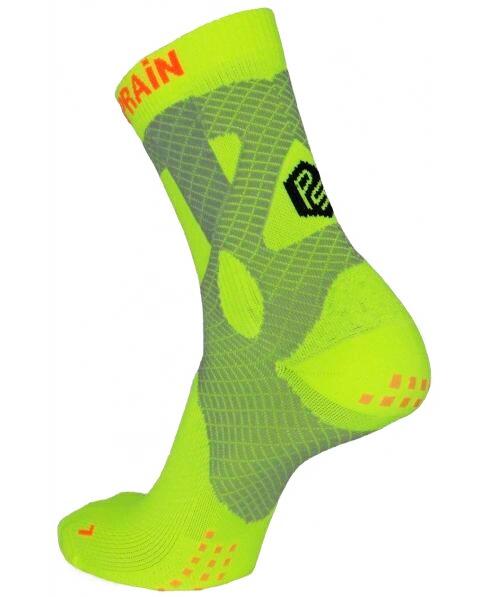 Neon Crew Sock