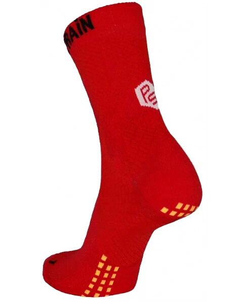 Red Crew Sock