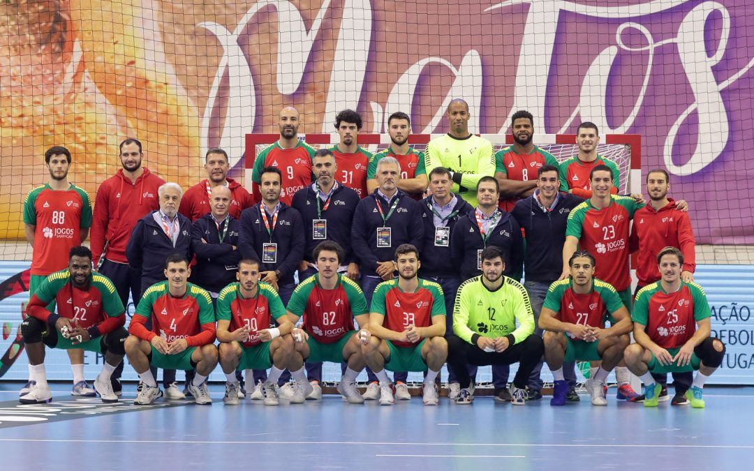 Winning Portuguese Team against Israel